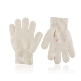 Rękawiczki dziecięce z serduszkami 15cm RK693
