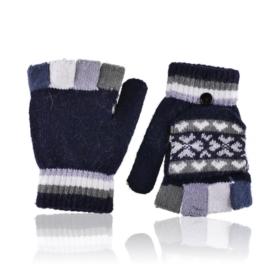 Rękawiczki dziecięce z seodkrywanymi palcami RK699