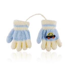 Rękawiczki dziecięce ze sznurkiem 13cm RK701