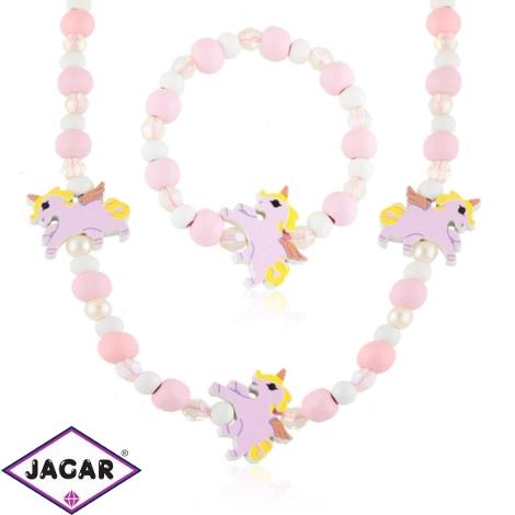 Komplet biżuterii dla dzieci unicorns - KOM472