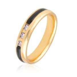 Obrączka z kryształkami Xuping PP3113