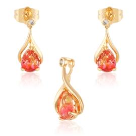Komplet biżuterii gradient - Xuping PK570