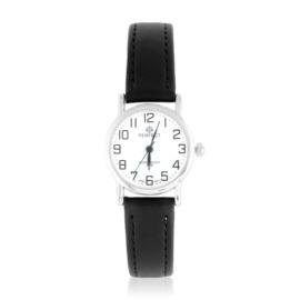 Zegarek skórzanym pasku - czarny Z2308