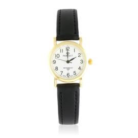 Zegarek skórzanym pasku - czarny Z2309