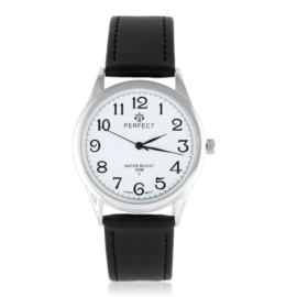 Zegarek skórzanym pasku - czarny Z2314