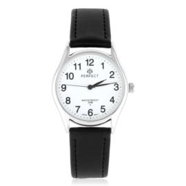 Zegarek skórzanym pasku - czarny Z2319