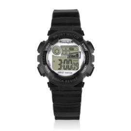 Zegarek dziecięcy silikonowy czarny Z2339
