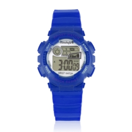 Zegarek dziecięcy silikonowy niebieski Z2340
