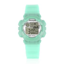 Zegarek dziecięcy silikonowy miętowy Z2341