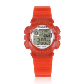 Zegarek dziecięcy silikonowy czerwony Z2342