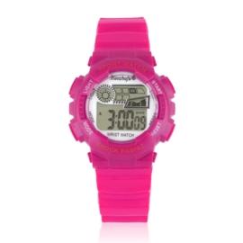 Zegarek dziecięcy silikonowy różowy Z2343