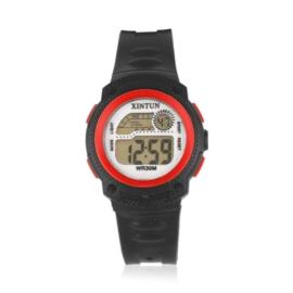Zegarek dziecięcy silikonowy black/red Z2345