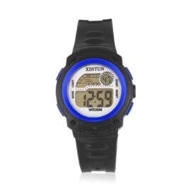 Zegarek dziecięcy silikonowy black/blue Z2346
