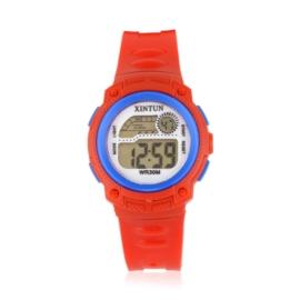 Zegarek dziecięcy silikonowy red Z2347