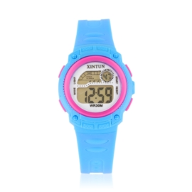 Zegarek dziecięcy silikonowy blue Z2350