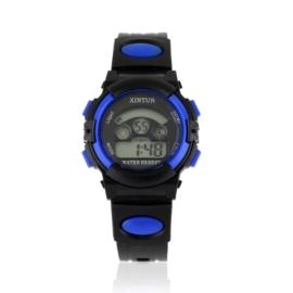 Zegarek dziecięcy silikonowy black/blue Z2351