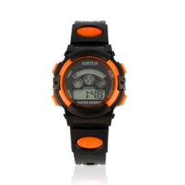 Zegarek dziecięcy silikonowy black/orange Z2352