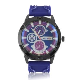 Zegarek męski na pasku - navy Z2362