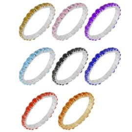 Bransoletki z kryształkami 10szt/op BRA3436