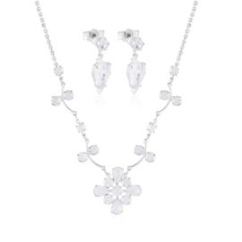 Komplet czeskie kryształy - KOM477