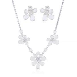 Komplet czeskie kryształy - KOM479