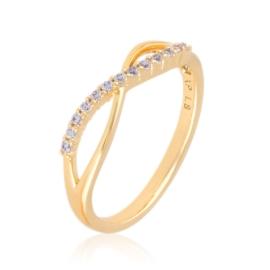 Pierścionek z kryształkami Xuping PP3121