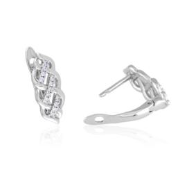 Kolczyki codzienne z kryształkami Xuping EAP16675