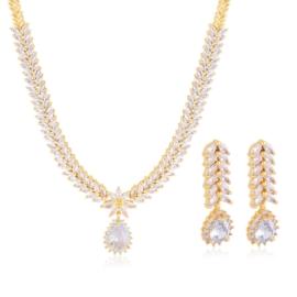 Komplet biżuterii ślubnej Xuping - SKO110