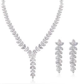Komplet biżuterii ślubnej Xuping - SKO112