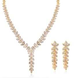 Komplet biżuterii ślubnej Xuping - SKO113