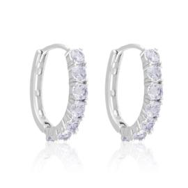 Kolczyki codzienne z kryształkami Xuping EAP16771