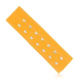 Opaska elastyczna z serduszkami - OPS852