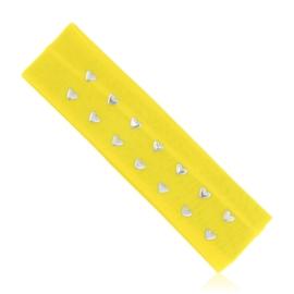 Opaska elastyczna z serduszkami - OPS853