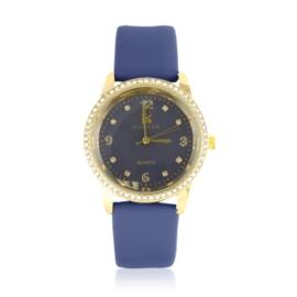 Zegarek damski na pasku granatowy Z2420