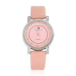 Zegarek damski na pasku różowy Z2421