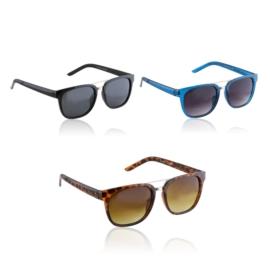 Okulary Paparazzi - mix kolorów - 2056 - 12szt/op