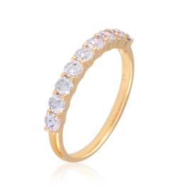 Pierścionek codzienny z kryształkami Xuping PP3160
