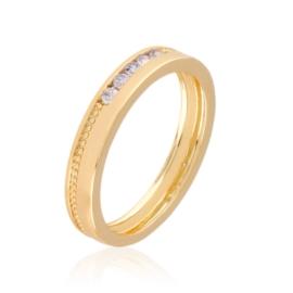 Obrączka codzienna z kryształkami Xuping PP3171