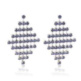 Kolczyki kryształkowe płaszcze EA3882