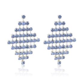 Kolczyki kryształkowe płaszcze EA3884