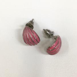 Kolczyki sztyfty - różowe EA3919