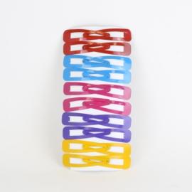Spinki pyki kolorowe 20szt OS1133