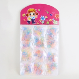 Gumki recepturki na paletce pastelowe OG1226