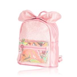 Plecak dziecięcy z kokardką - różowy - PL388