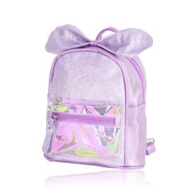 Plecak dziecięcy z kokardką - fioletowy - PL390