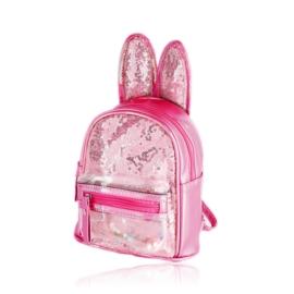 Plecak dziecięcy z uszkami - różowy - PL394