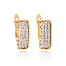 Kolczyki codzienne z kryształkami Xuping EAP16983
