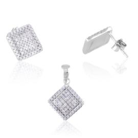 Komplet biżuterii stalowej Lisha PK578