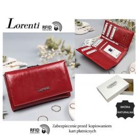 Portfel skórzany 55020-BPR-RFID Red P1434