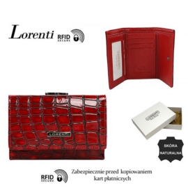 Portfel skórzany 55282-ZS-RFID Red P1437